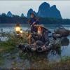 Рыбаки с бакланами