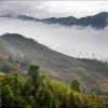 Канатная дорога на рисовых террасах Лунцзи