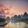Рассвет на реке Ли