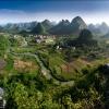 На вершине холма Cui Ping