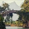 Youlong Bridge недалеко от Яншо