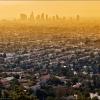 Вид на Лос Анджелес с обсерватории Гриффит