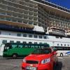 Наш автомобиль на острове Миконос, Греция