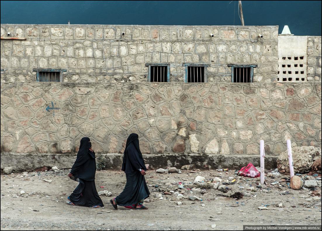 Типичный дресс код йеменской женщины