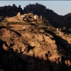 Деревня в горах Манаха