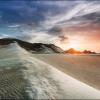 Песчаные дюны на пляже Калансия