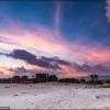 Закат на Amak Beach