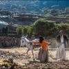 Крестьяне за работой в горах Хараз