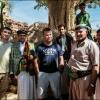 На Йеменской свадьбе, в окружении жениха и его братвы