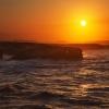 Закат на  берегу Бискайского залива. Окрестности Рибадео. Сентябрь 2013. Испания