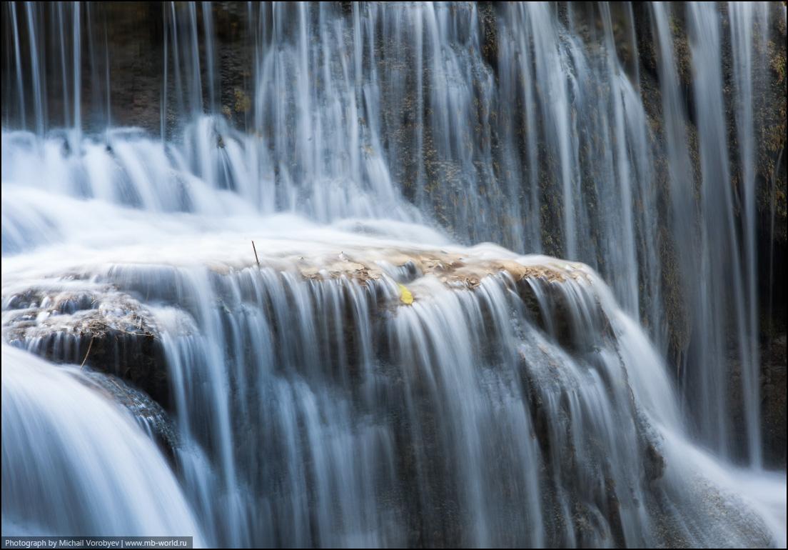 Каскады водопада Кунг Си