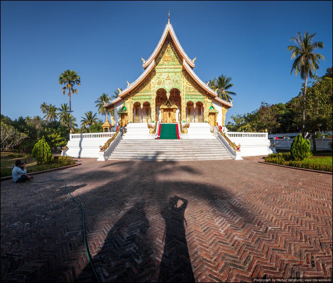 Буддийский храм у королевского дворца