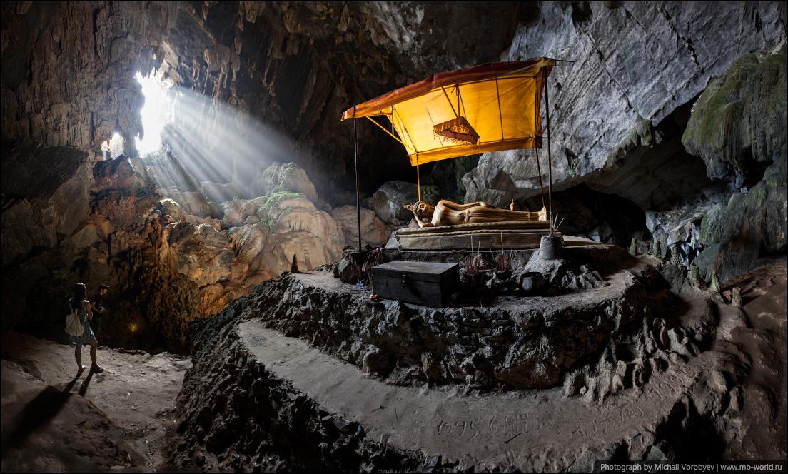 Пещера Tham Poukham Cave