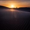 Закат в песчаных дюнах Heyf