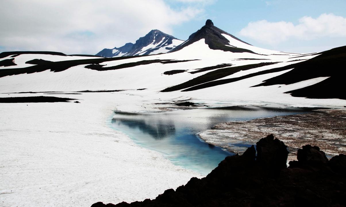 Дорога на вулкан Мутновский