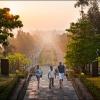 Вход в храм Боробудур