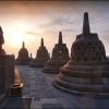 Каменные ступы храма Боробудур