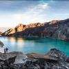 Кислотное озеро вулкана Иджен