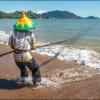 Рыбаки на побережье Южной Суматры