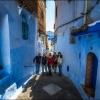 В синем, синем городе...