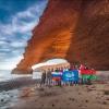 Наша интернациональная команда покорила знаменитые каменные арки Легзиры