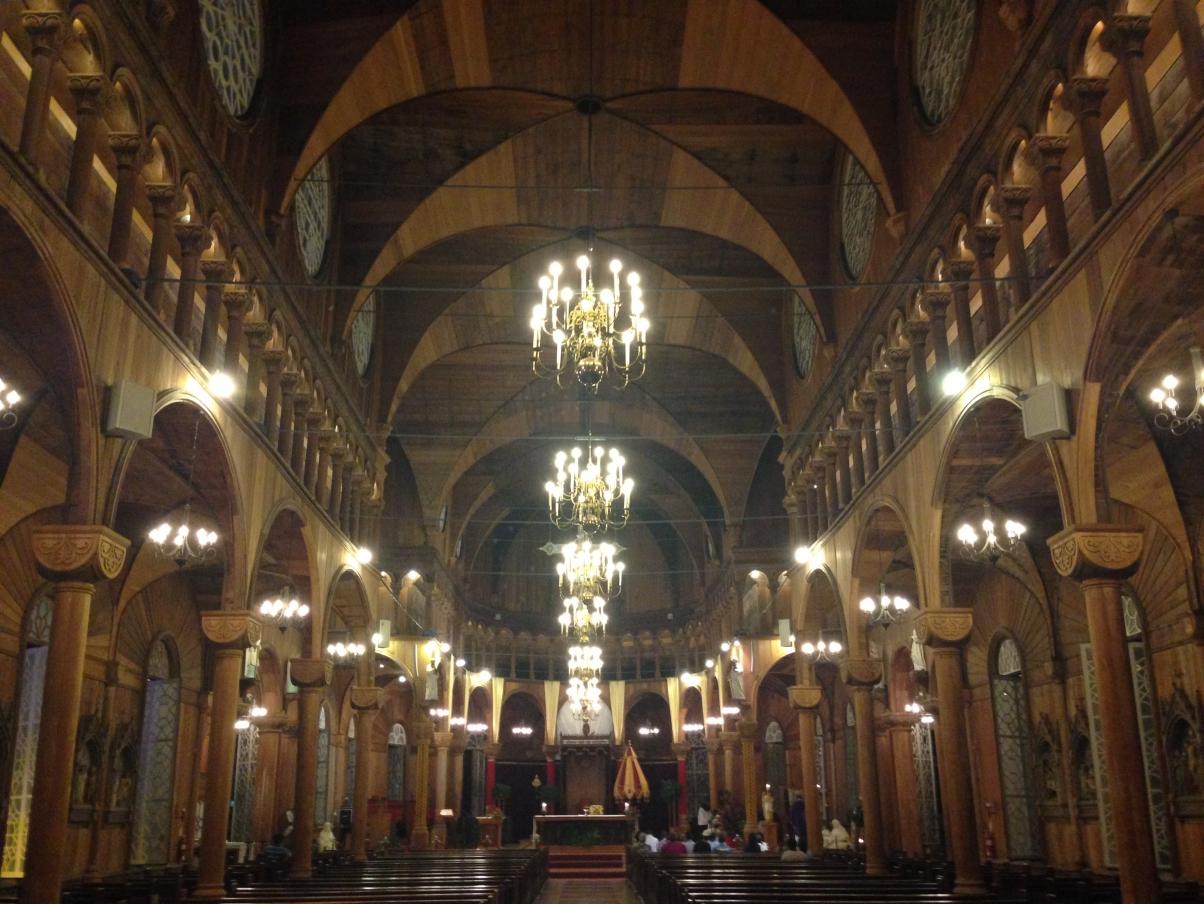деревянный костел