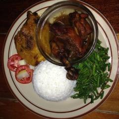 традиционная суринамская курица