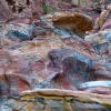 Разноцветные скалы Петры