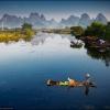 Яншо. Рыбак на реке Ли