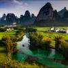 Пейзаж южного Китая