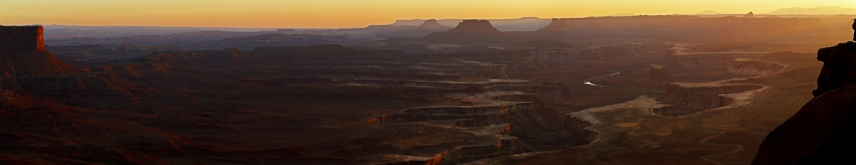 Green River Overlook. Национальный парк Canyonlands. Island in The Sky
