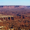 Grand View Overlook. Национальный парк Canyonlands. Island in The Sky