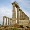 Греция. Аттика. Мыс Сунио. Храм Посейдона апрель 2011