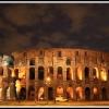 Рим. Ночной Колизей