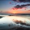 Закат на пляже Легзира