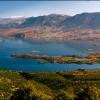 Озеро в горах Атласа