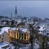 Взгляд на зимний Таллин