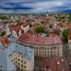 Таллин. Панорама Старого города.