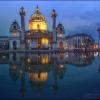 Церковь Карлскирхе в Вене